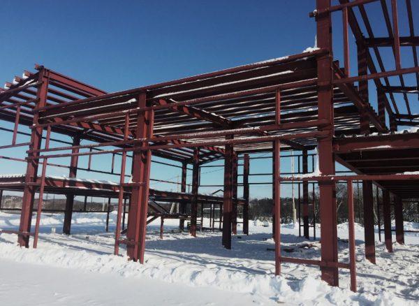 Монтаж металлоконструкций в Новосибирске